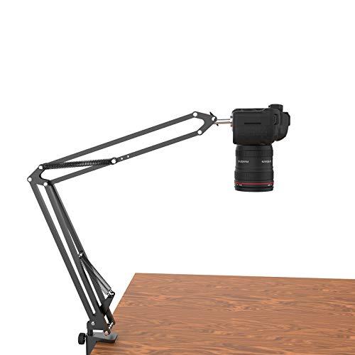 Overhead Tripod for DSLR Cameras, Heavy Duty Camera Desk Mount...