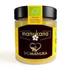 Manukana Bio Raw Manuka Honig | Ethische Imkerei | Echte Gläser (MGO 400+ | 125g)