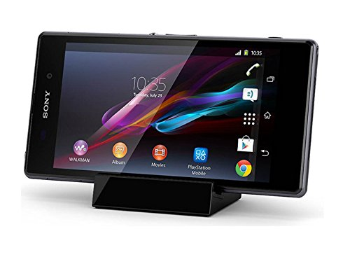【LIHOULAI】Sony Xperia Z1 Compact 卓上ホルダー Xperia Z1 Compact D5503 充電器 Xperia Z1 Compact SO-...