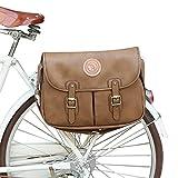 TOURBON Bike Bags for Bicycles Rear Rack Pannier 13-inch Laptop Shoulder Messenger Bag