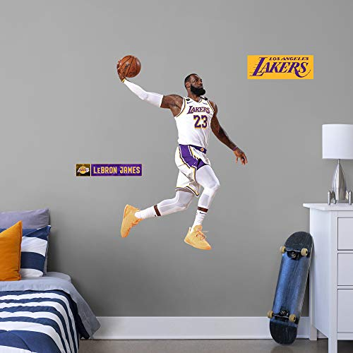 Lebron James - 2020 Finals Dunk - Officially Licensed NBA Removable Wall Decal