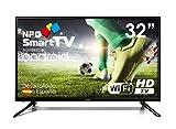 Téléviseur 32' LED NPG Smart TV Android HD DVB-T2 H.265 Enregistreur USB WiFi S420L32H