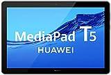 Huawei MediaPad T5 Tablet with 10.1' IPS FHD Display, Octa Core, Dual Harman Kardon-Tuned Speakers, WiFi Only, 2GB+16GB, Black (US Warranty)