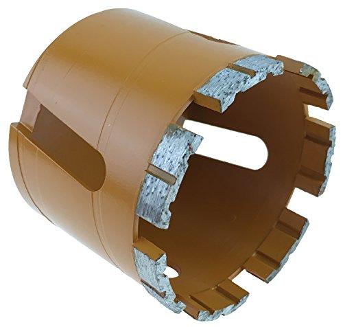 PRODIAMANT Premium Diamant-Dosensenker Mauerwerk 82 mm x M16 Diamantdosensenker PDX957.638 82mm 7 Diamantsegmente hohe Standzeit