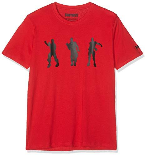 Fortnite 8791 Camiseta, Rojo (Rouge Rouge), 16 años para Niños