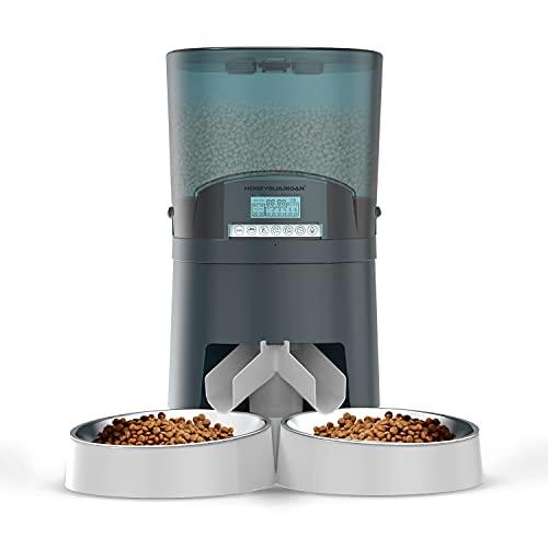 HoneyGuaridan 7L Comederos automáticos para Perros y Gatos con...
