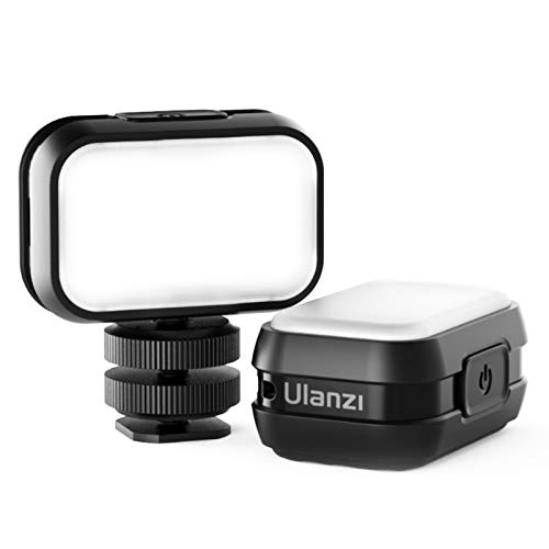 Lampada video Ulanzi VL28 mini LED con batteria da 300 mAh e 4 livelli di luminosità, piccola luce video Vlog per smartphone / fotocamera / Osmo Pocke / DSLR / iPhone / Gopro