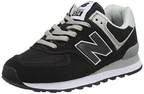 New Balance Damen 574v2 Core Sneaker, Schwarz (Black), 39 EU