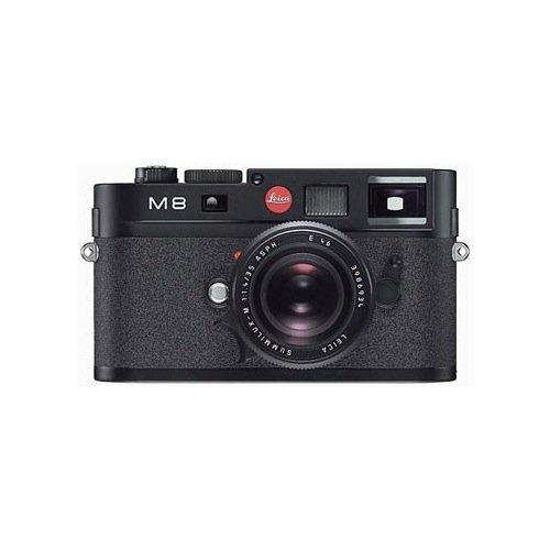 Leica M8 10.3MP Digital Rangefinder Camera with .68x Viewfinder (Black Body O…