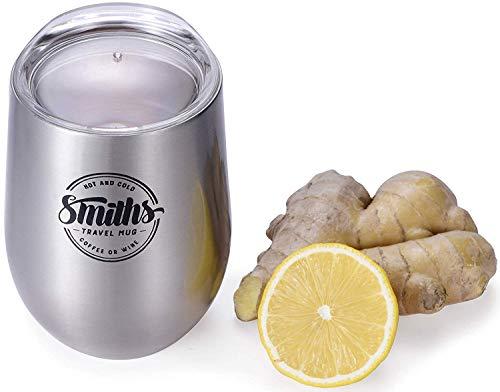 Smith's Mason Jars 12-oz / 355mL Tasse de Voyage réutilisable - Verre à...