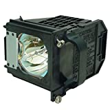 Aurabeam 915P061010/915P061A10 Professional Mitsubishi Rear Projection Television Replacement Lamp DLP Bulb with Housing/Enclosure (Powered by Philips)