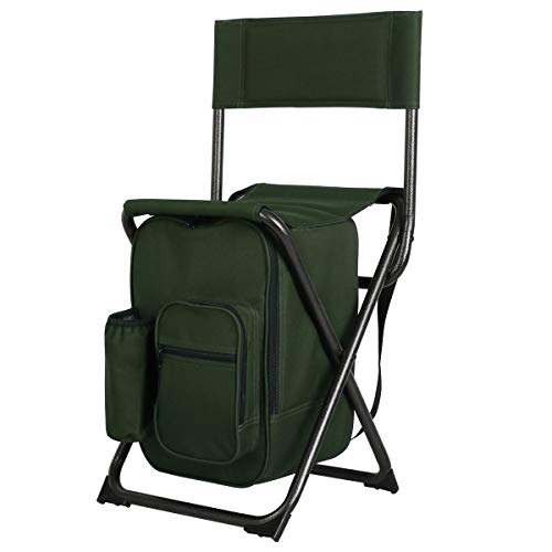 5. PORTAL Lightweight Ice Fishing Stool With Cooler Bag and Shoulder Straps