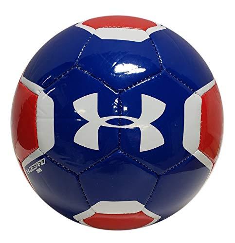 Under Armour Unisex 2020 395 Soccer Ball, Kids, Red/White/Blue, 3