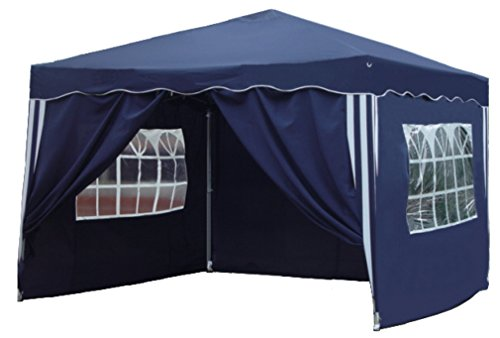 Kronenburg Faltpavillon wasserdicht Dachmaß 3 x 3 m UV...