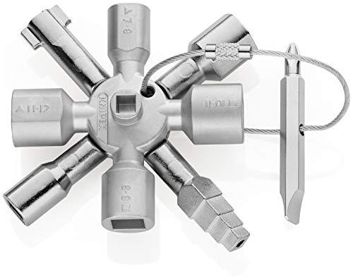 KNIPEX 00 11 01 TwinKey per tutti i sistemi di chiusura pi comuni 92 mm