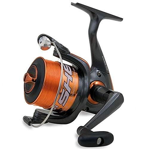 SHIZUKA Mulinello da Pesca Imbobinato SK6 2000 2000 con Frizione Anteriore Precisa e Potente da Spinning Bolognese Feeder Fondo Mare Trota Lago Leggero e Affidabile