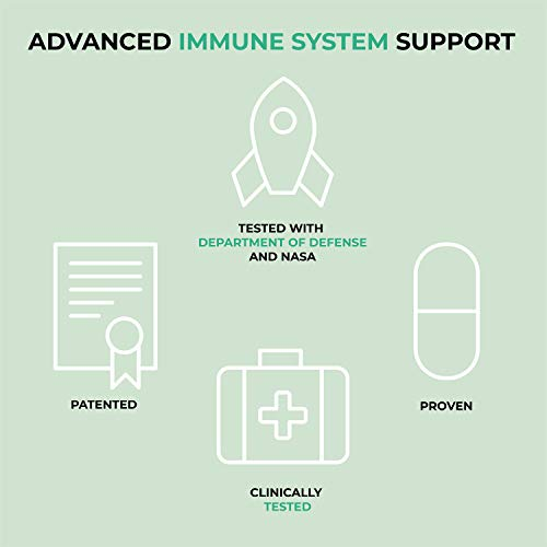 'NHANCED Cell Defense | Immune System Booster and Immunity Support Supplement | Patented and clinically Proven to Boost Immune System Function by 50%, on Average | 120 Capsules (30-Day Supply) 6