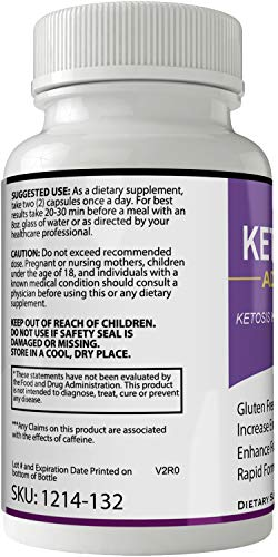 Keto Ignite Advanced Pills Weight Loss Supplement, Appetite Suppressant with Ultra Advanced Natural Ketogenic Capsules, 800 mg Fast Formula with BHB Salts Caffeine Ketone Diet Boost Metabolism 3