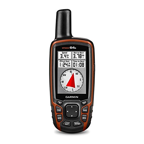 Garmin GPSMAP 64s Worldwide with High-Sensitivity GPS and...