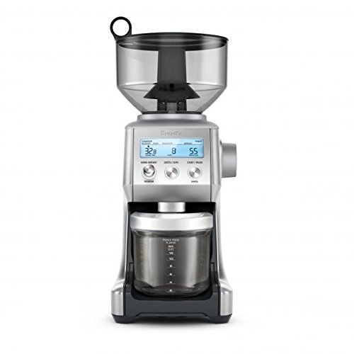 Breville The Smart Grinder Pro Coffee Bean Grinder, Brushed Stainless Steel 2