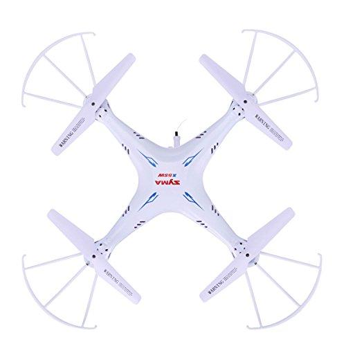 Goolsky Syma X5SW 4CH 2.4G 6-Asse Giroscopio RC Wifi FPV Quadricottero Drone con Telecamera 0.3 MP