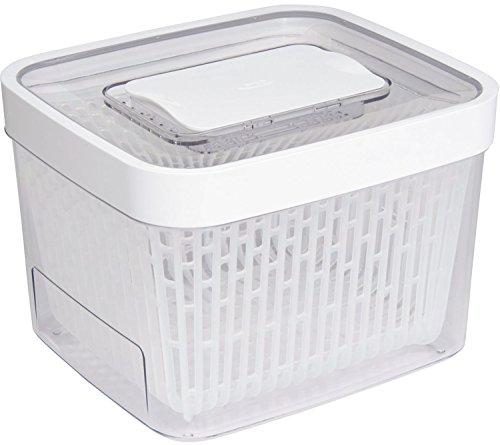 OXO 野菜保存容器 グリーンセーバー フードキーパー 4.0L 食洗機可能