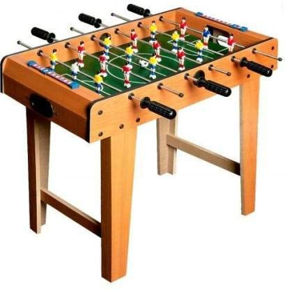 IRIS Soccer Foosball Table Heavy Duty Indoor Arcade Game, Size: 69 cm X 37 cm X 62 cm