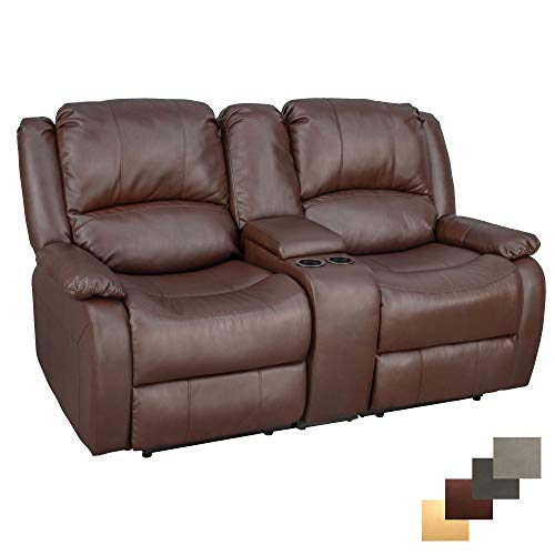 RecPro Charles 67' Powered Double RV Wall Hugger Recliner Sofa RV...