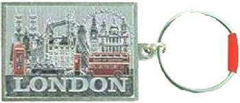 London Souvenir Keyring Keychain Landmarks Gift Big Ben Tower Bridge Bus Taxi