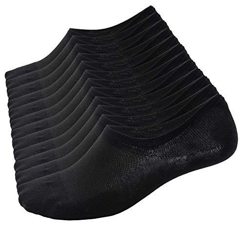 Calzini Fantasmini da Uomo e Donna, Sneaker Calze Invisibili in 92 percento Cotone Elasticizzato,...