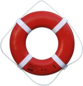 Cal June USCG Approved Ring Buoy (20- Inch Diameter, Orange) - GO-20