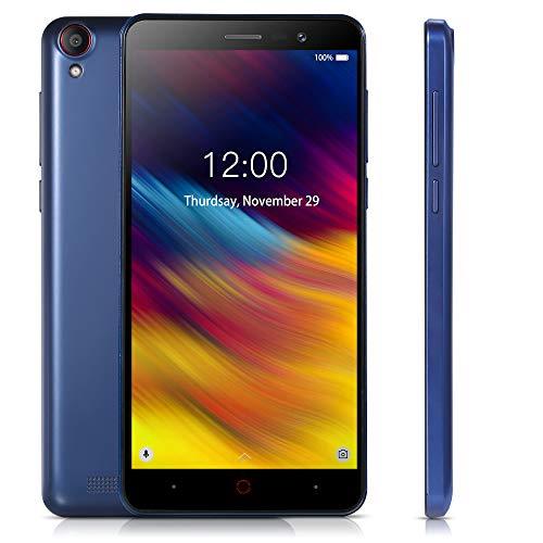 Doogee X100 Android 8.1 Mobile Phone 4200mAh 5.0 inch Screen Smartphone 1GB RAM 8GB ROM 5.0MP Dual SIM 3G WCDMA GPS Blue-EU