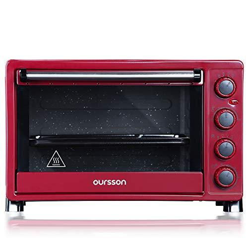 Oursson Forno elettrico a convezione, 30 litri, 12 combinazioni di cottura, funzione di pulizia...