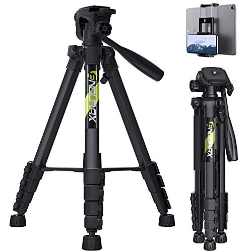 Endurax 66 Video Camera Tripod Stand Compatible with Nikon Canon,...