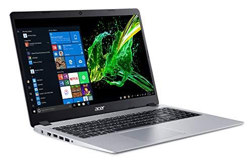 Acer Aspire 5 Slim Laptop, 15.6 inches Full HD IPS Display, AMD Ryzen 3 3200U, Vega 3 Graphics, 4GB DDR4, 128GB SSD, Backlit Keyboard, Windows 10 in S Mode, A515-43-R19L, Silver