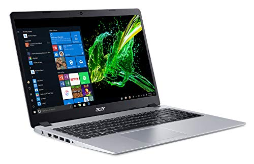 "Acer Aspire 5 Slim Laptop, 15.6"" Full HD IPS Display, AMD Ryzen 3 3200U, Vega 3 Graphics, 4GB DDR4, 128GB SSD, Backlit Keyboard, Windows 10 in S Mode, A515-43-R19L"