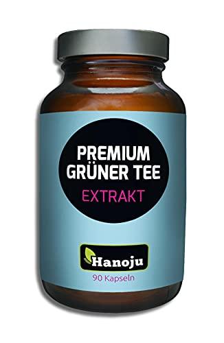 90 Kapseln Grüner Tee Extrakt premium 400 mg | Nahrungsergänzungsmittel aus Grüntee