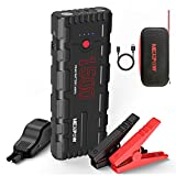 NEXPOW Car Battery Starter, 1500A Peak 21800mAh 12V Portable Auto Car Battery Charger Jump Starter...