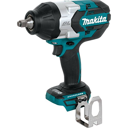 Makita XWT08Z 18V LXT Lithium-Ion Brushless Cordless High-Torque 1/2' Sq. Drive Impact Wrench, Tool Only