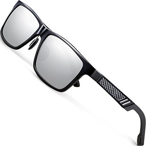 ATTCL Men's Retro Driving Polarized Sunglasses