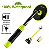 RM RICOMAX Underwater Metal Detector - Waterproof Pinpointer Up to 100 Feet Underwater, All-Metal Mode & Pulse Induction Targeting with Vibration LED, Ideal for Adutls and Kids