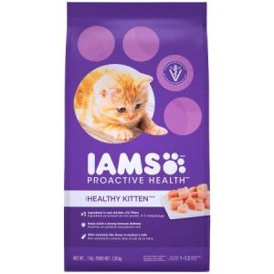 Iams Proactive Health Kitten Dry Cat Food (Pack of 2)
