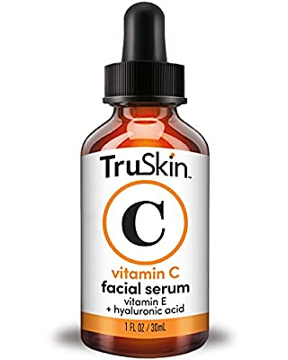 ANTIOXIDANT FACE SERUM - Vitamin C blends with Botanical Hyaluronic Acid, Vitamin E, Witch Hazel, and Jojoba Oil to promote your skin's response to signs of aging like brightness, wrinkles, & dark spots OUR CUSTOMERS KNOW BEST - Don't just take our w...