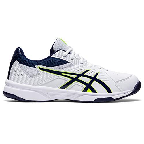 ASICS Men's Court Slide White/Peacoat Tennis Shoes-6 UK (40 EU) (7 US) (1041A037)