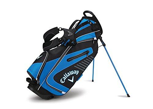 Callaway Golf 2017 Capital Stand Bag, Black/White