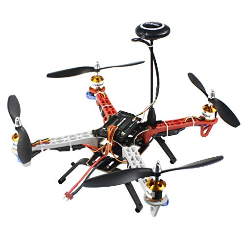 QWinOut DIY RC Drone Quadrocopter 4-axle Aircraft Kit F330 MultiCopter Frame 6M GPS APM2.8 Flight Control No Transmitter No Battery