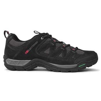 Mens Breathable Outdoor Footwear Summit Walking Shoes (9 (43), Navy)