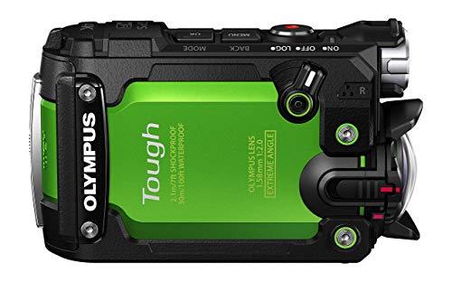Olympus TG-Tracker G Videocamera per Attività Estreme, CMOS, Video 4K, Verde