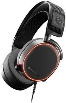 SteelSeries Arctis Pro - Casque Gaming - Pilotes d'enceintes Haute Résolution - DTS Headphone:X v2.0 Surround - Filaire - Noir