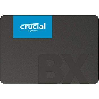 Crucial BX500 240Go CT240BX500SSD1(Z) SSD Interne-jusqu'à 540 MB/s (3D NAND, SATA, 2,5 pouces)